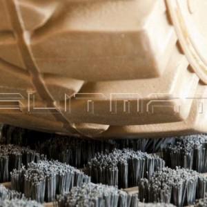 Stahlreinigungsmatten für Gablerstapler